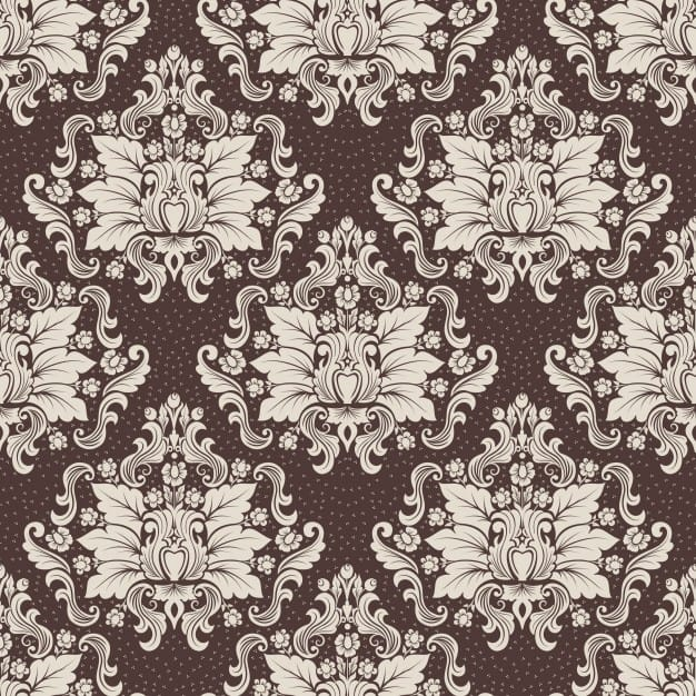 Vector damask seamless pattern background. Classical luxury old fashioned damask ornament, royal ...