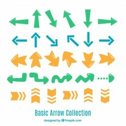 Original variety of fun arrows