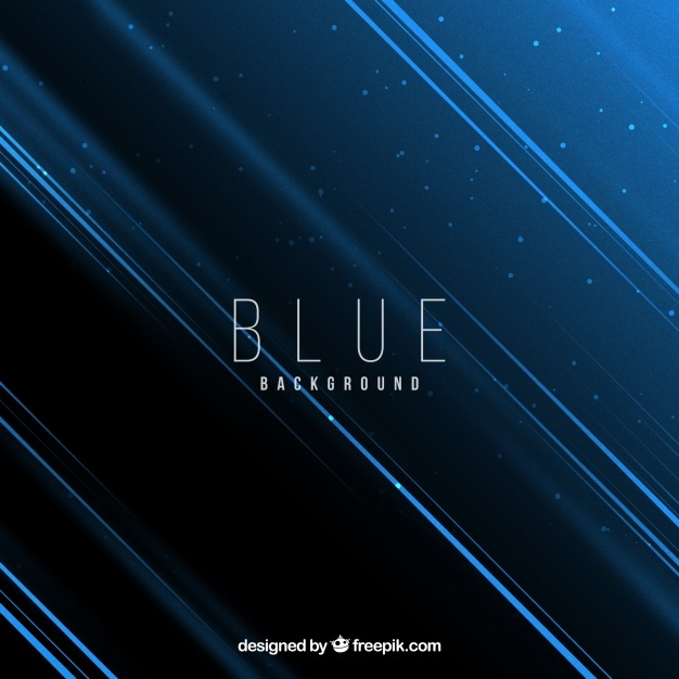 Abstract background with blue style
