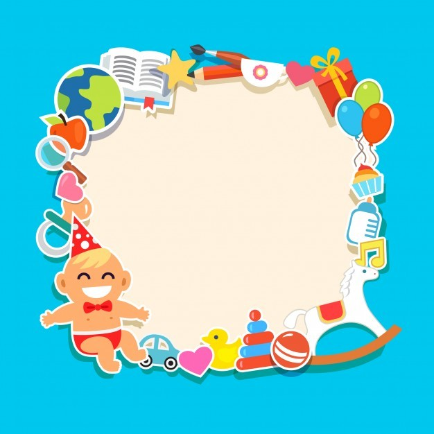 cartoon kids frame vector free download - Cartoon Kids Pics