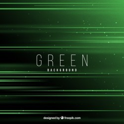 Green background with elegant design