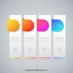 Infographic template with lovely style