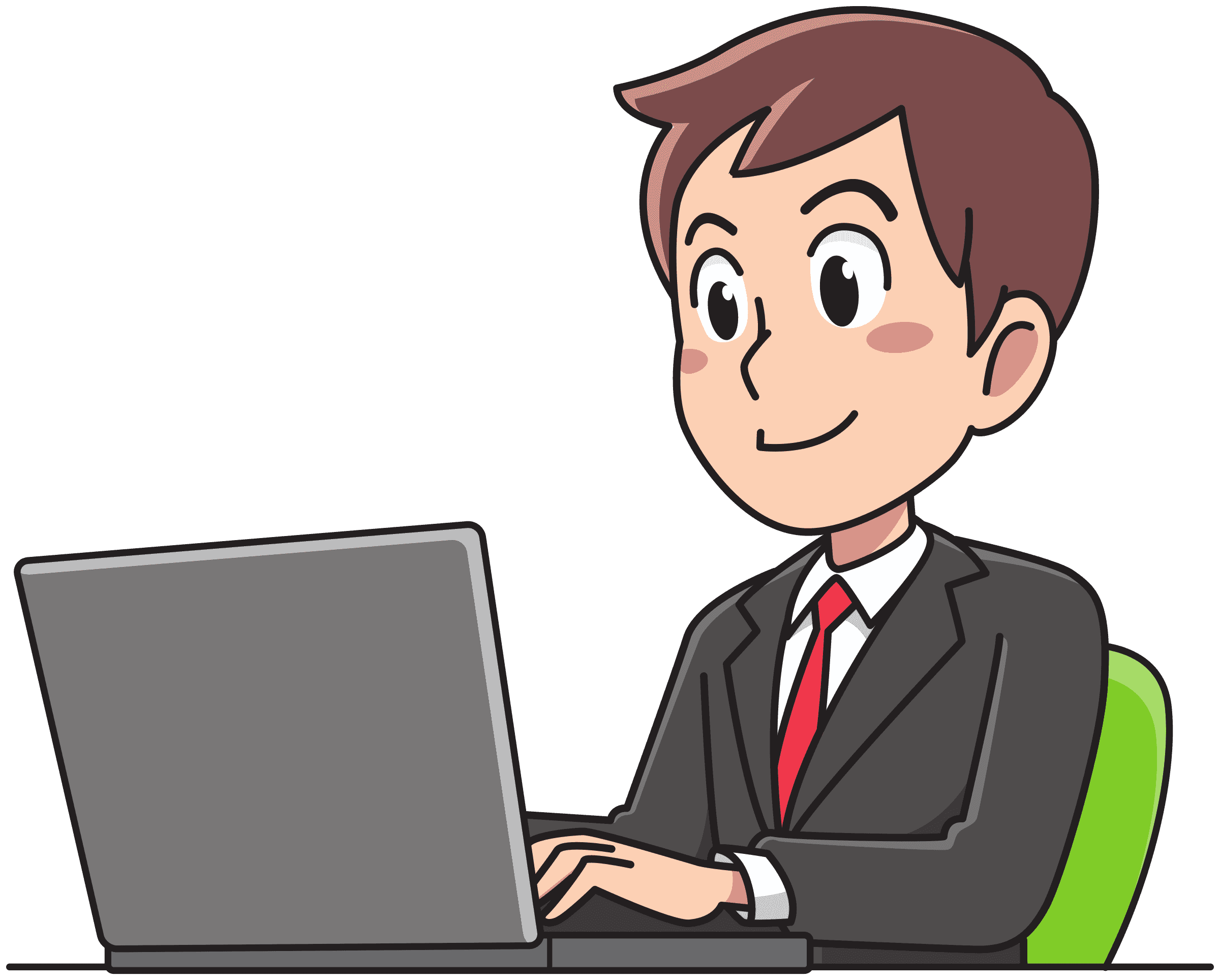 Business man working Icons PNG