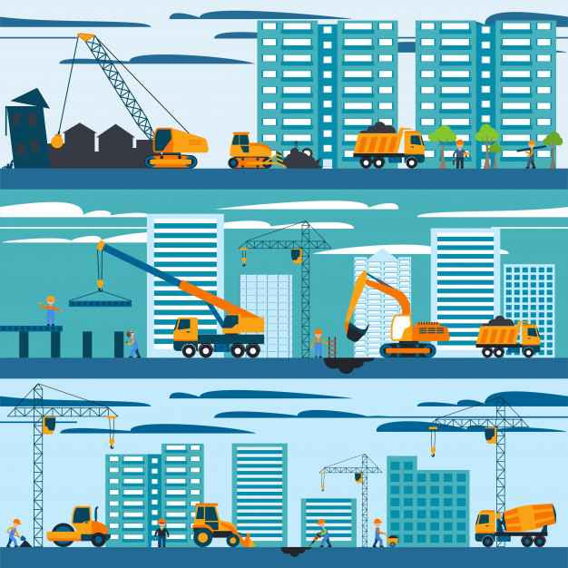 Construction And Building Concept