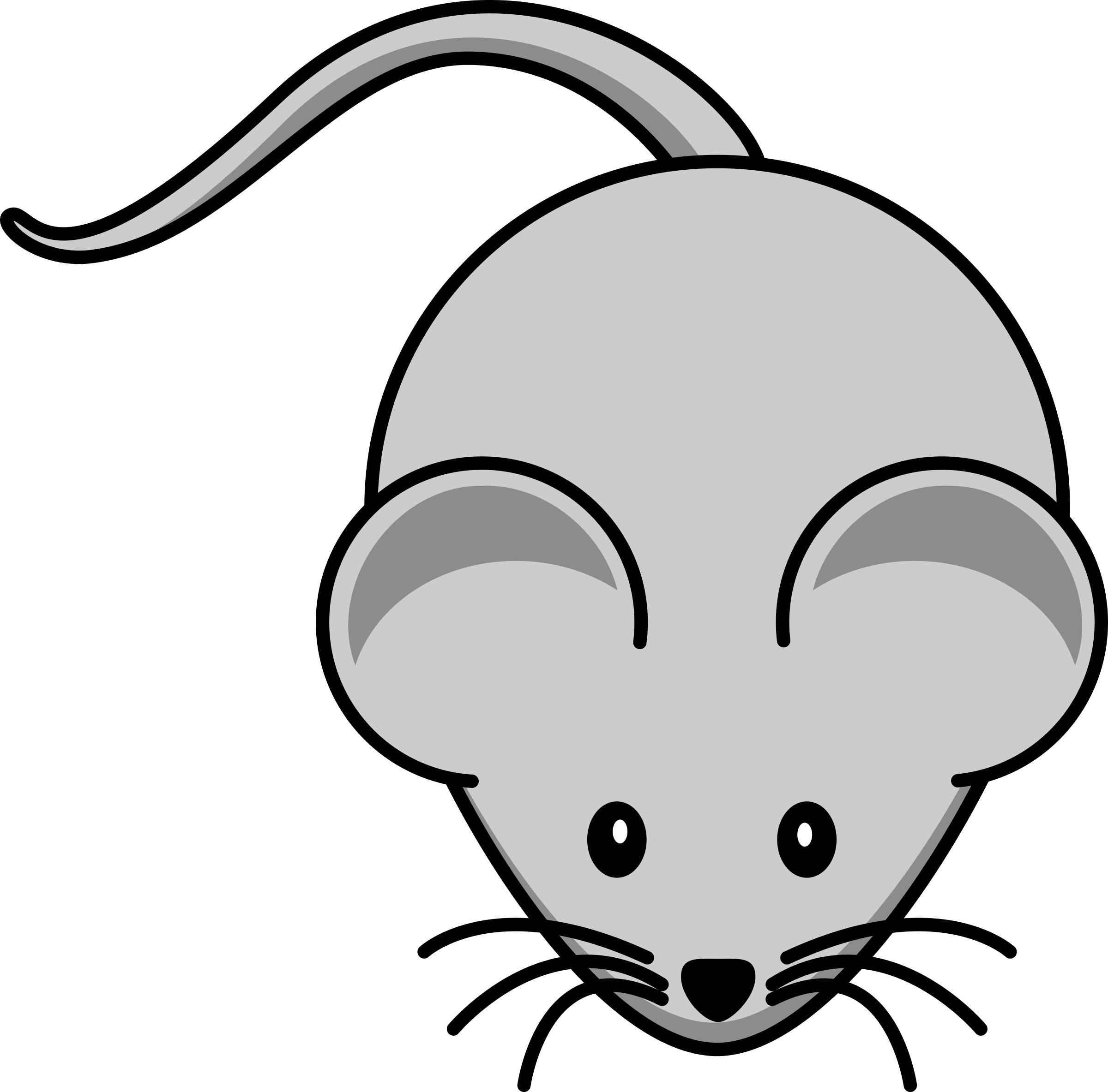 Simple cartoon mouse Icons PNG