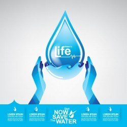 Start now save the water infographic vector 16