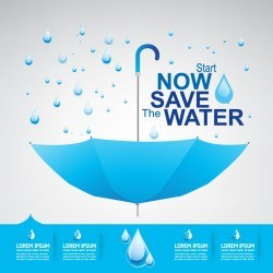 Start now save the water infographic vector 11