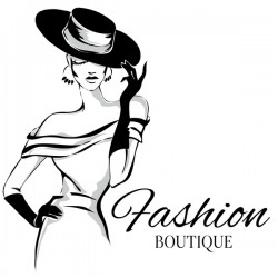 Girl with fashion boutique illustration vector 07