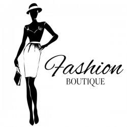 Girl with fashion boutique illustration vector 09