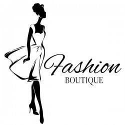 Girl with fashion boutique illustration vector 11