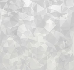White geometric shapes backgrounds vector set 10