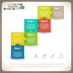 minimal infographic elements template vector 20