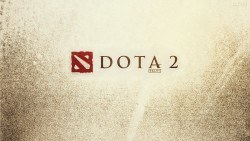 wallpaper dota 2 logo