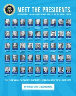 Presidents Poster