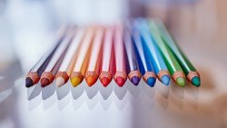Wallpaper colored pencils