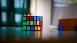 Wallpaper rubiks cube