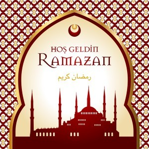 ethnic styles ramazan background vector