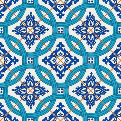 Seamless classical decorative pattern vector 07