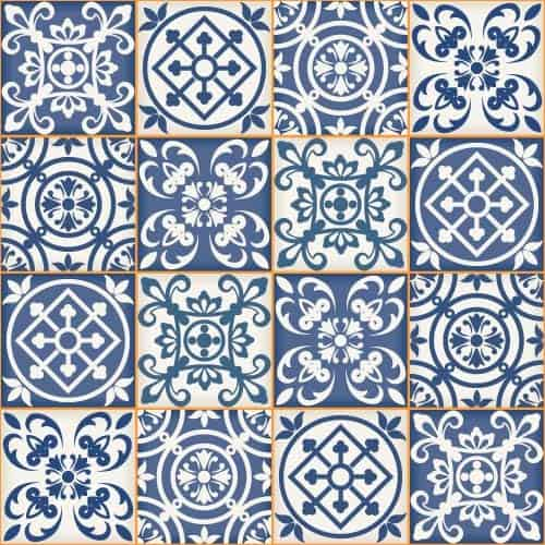 Seamless classical decorative pattern vector 01