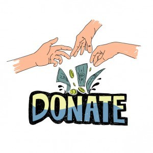 Illustration of charity support Vector | Free Download