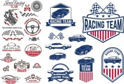 Car Decals Racing