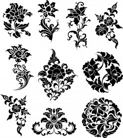 Flowers Ornaments Illustration