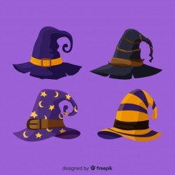 Halloween hat collection