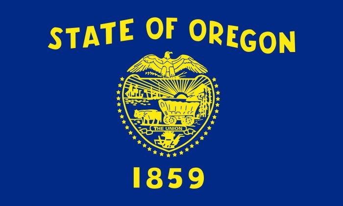 Oregon State Flag and Seal