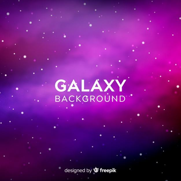 Purple and pink galaxy background