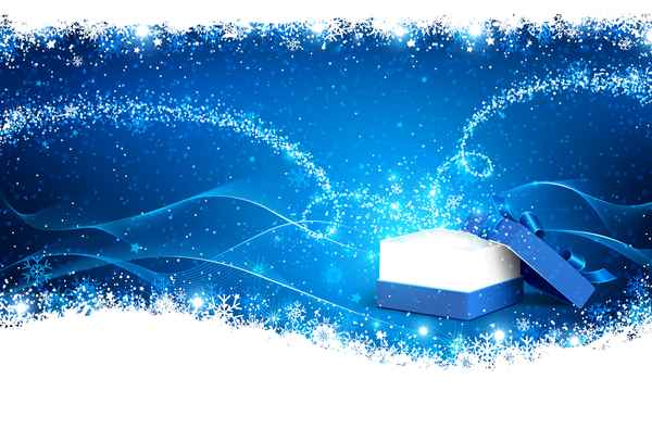Christmas gift boxs with abstract background vector material 01