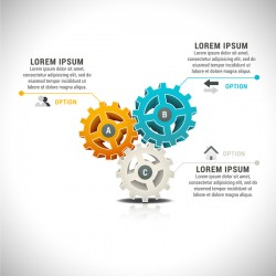 Pizzle modern infographic template vector 02