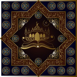 Islamic styles pattern decor vectors 05