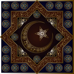 Islamic styles pattern decor vectors 06