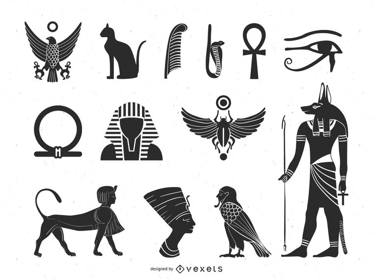 Egyptian Ancient Culture Element Pack