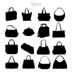 Fashionable Ladies Parts Pack Silhouette
