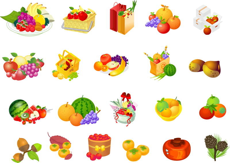 Fruit Series Vector
