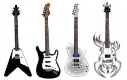 Guitar free vector pack – Different shape