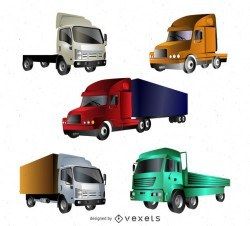 Vector trucks set