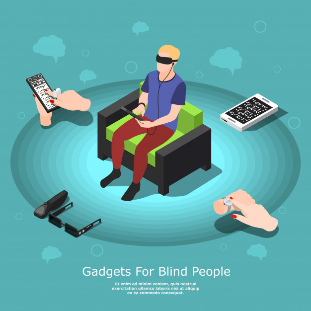 Gadgets for blind people