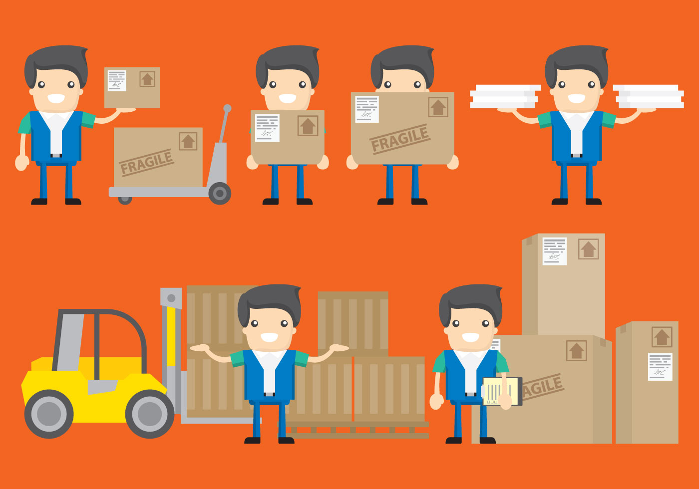 Delivery Characters