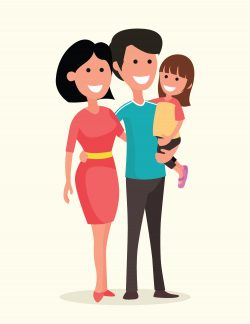 Family Adoption Illustration