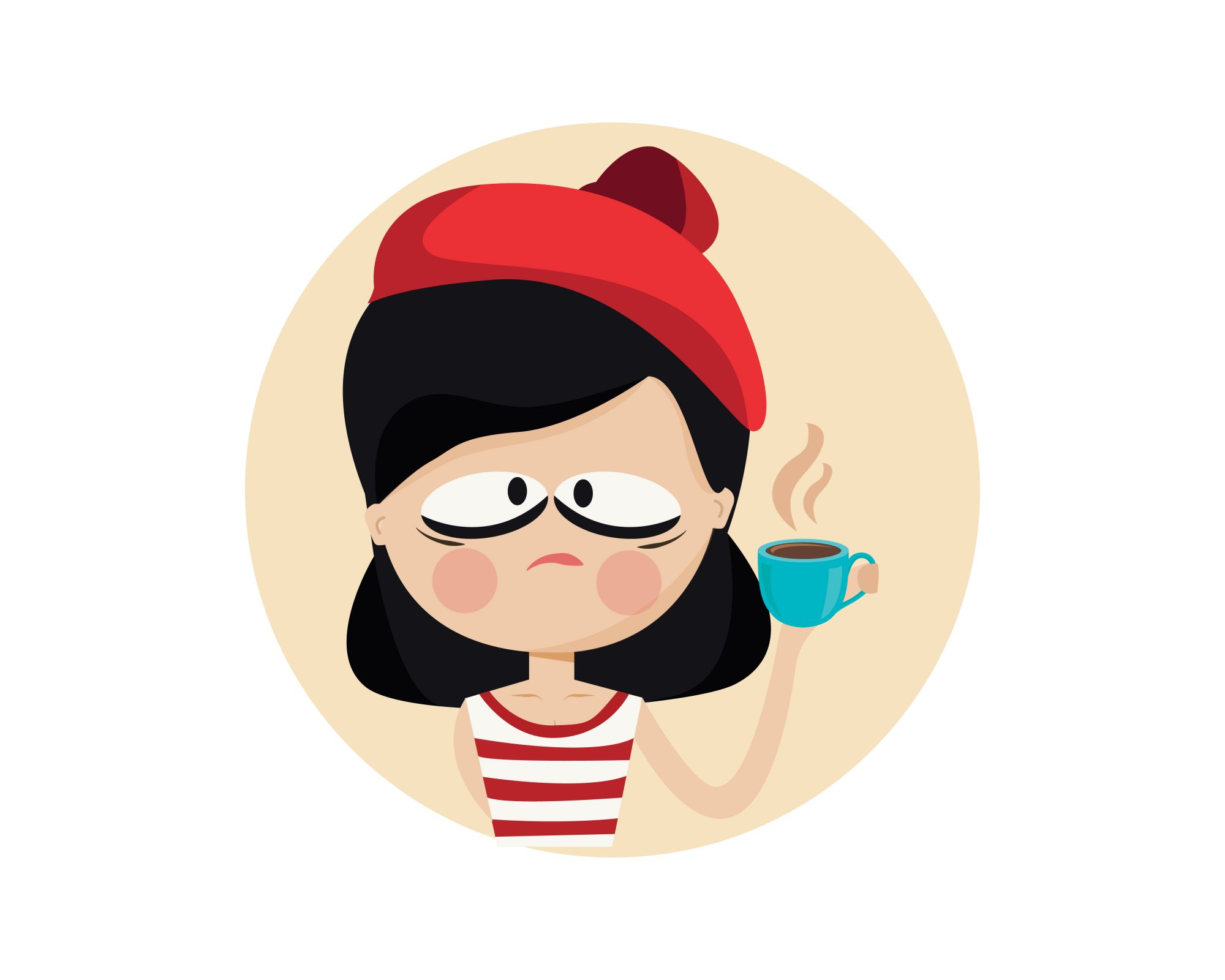 Coffe Cup Character