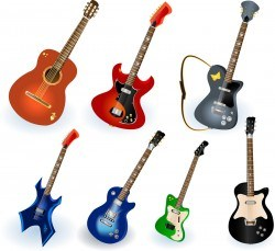 Musical Instruments Elements 01 Vector